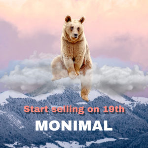 MONIMAL販売開始!