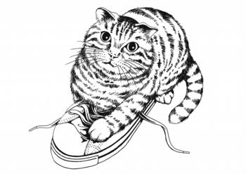 フェリシモ猫イラスト